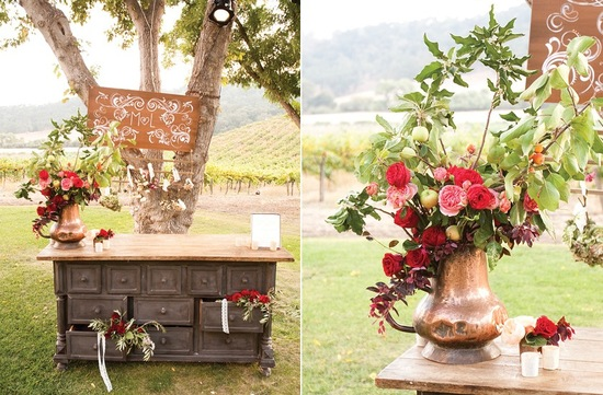 Perfect wedding color palettes for fall