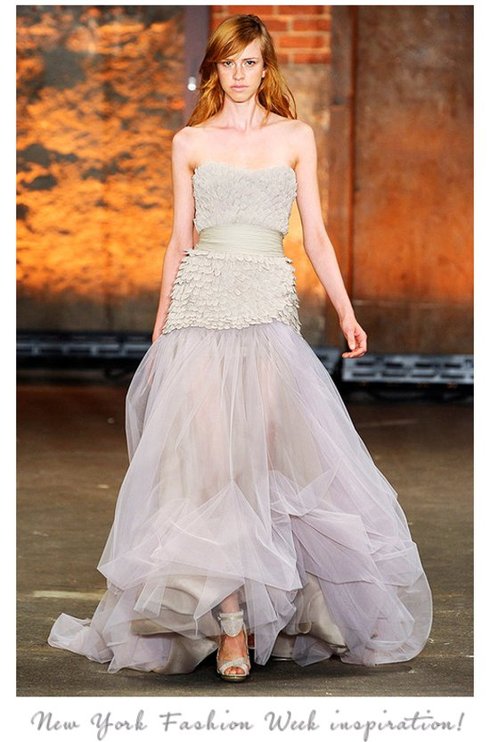 Christian Sorriano Spring 2012 bridal gown