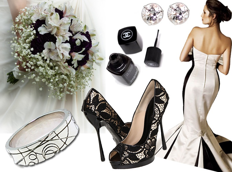 Black And White Wedding Inspiration And Ideas