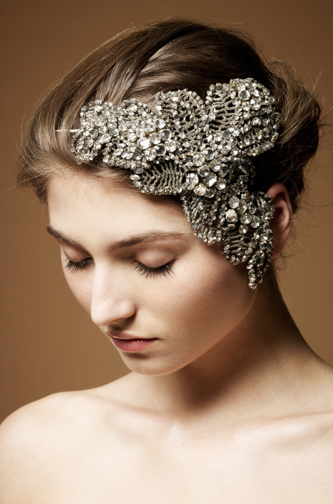 photo of 9 Heavenly Wedding Headdresses by Jenny Packham