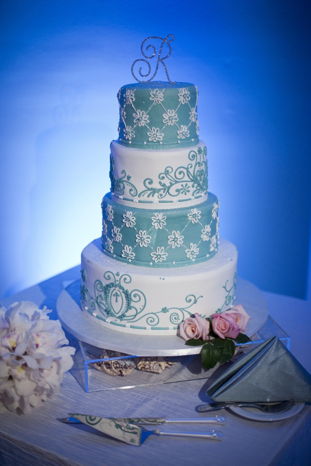 summer themed wedding cakes themed wedding in florida 20593