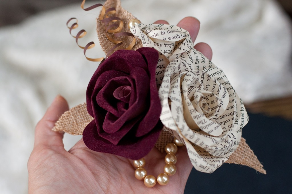 Wine-burlap-and-vintage-book-page-wedding-corsage.full