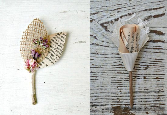 photo of 50 Fabulous Wedding Finds for Book Worms