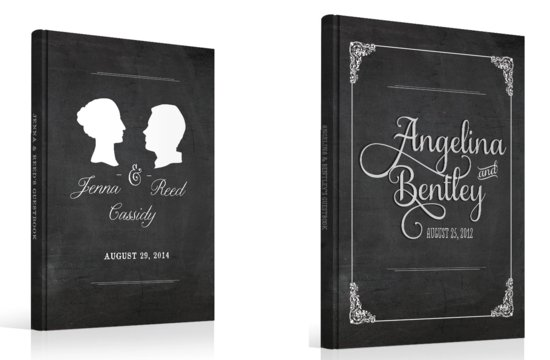 Classic Novel Inspired Wedding Guest Books