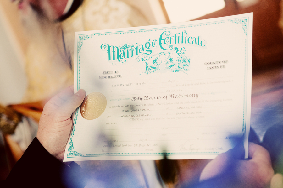 Awesome-marriage-certificate-with-aqua-calligraphy.full