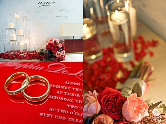 photo of Crimson Red Wedding Inspiration... It's Red Hot!