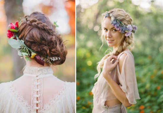 8 ways for brides to wear flowers down the aisle