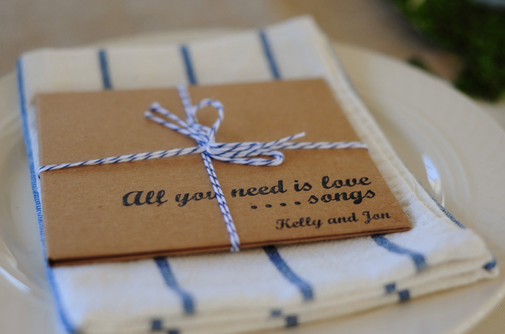 Personal and DIY Wedding Favors