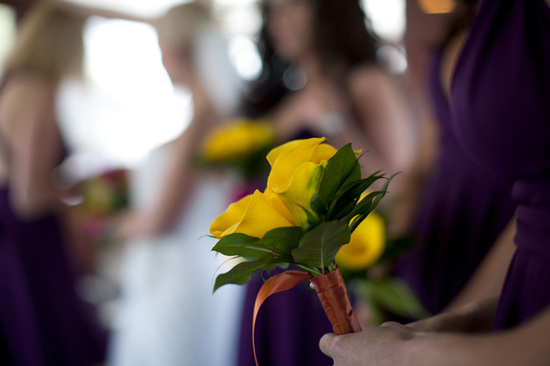 DIY Calla Lily Bridesmaid Bouquets