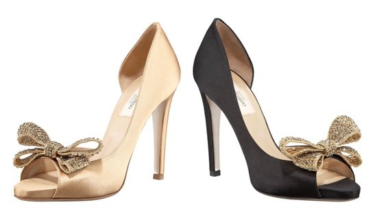 photo of Valentino Jewelery Couture Bow d'Orsay Pump