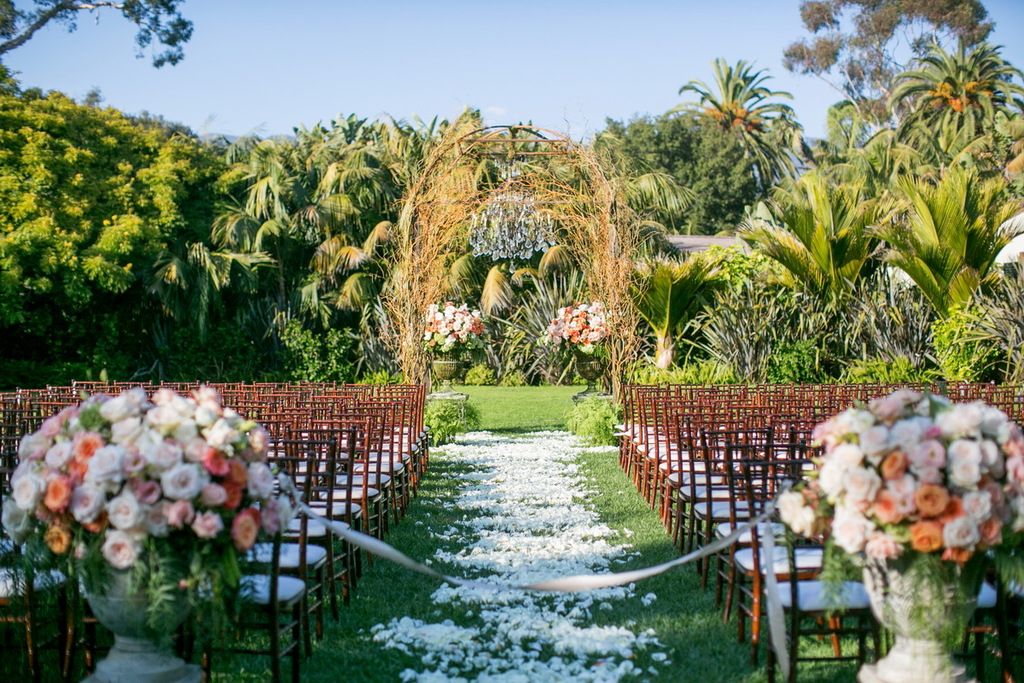 Romantic timeless wedding enchanted outdoor ceremony