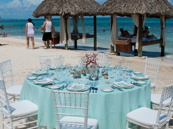 Beachside Reception Inspiration