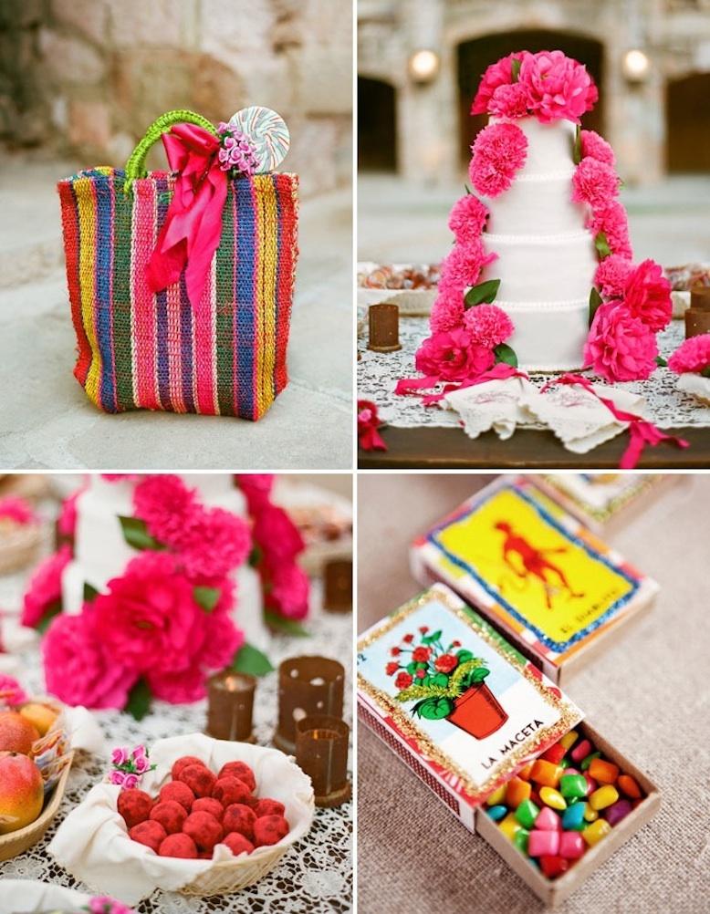 Bright-destination-wedding-in-mexico-peony-adorned-cake.full