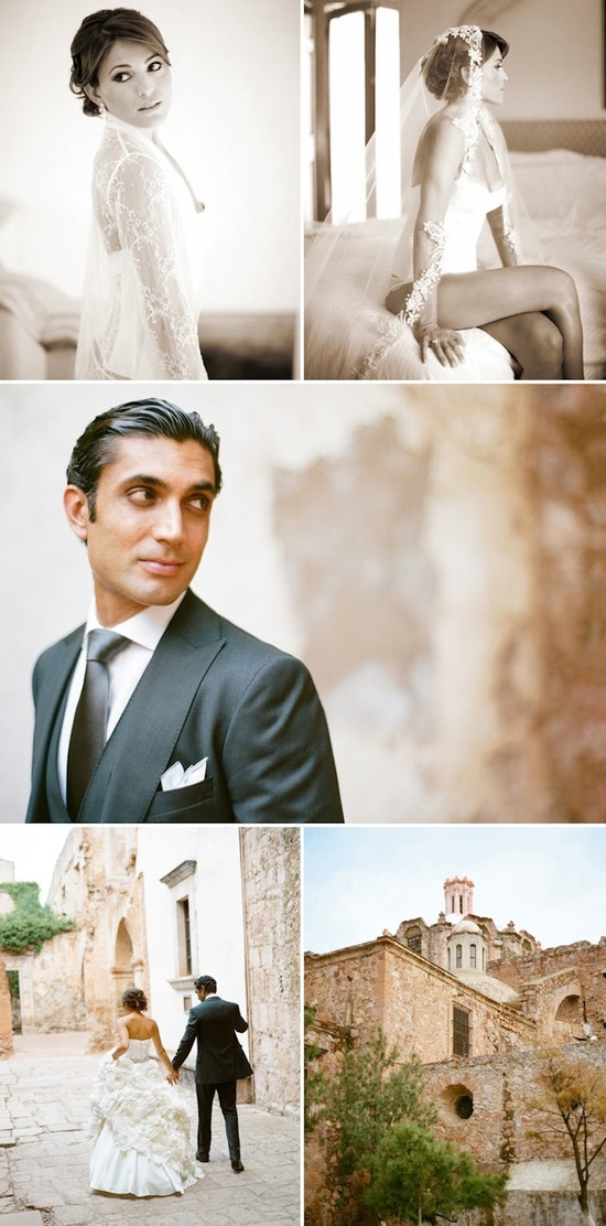 Bright destination wedding in Mexico by Aaron Delesie 2