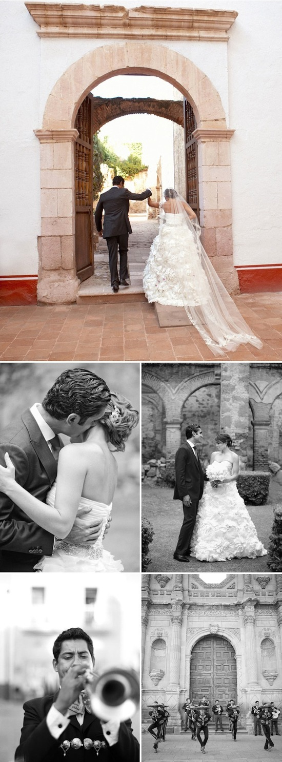 Bright destination wedding in Mexico by Aaron Delesie 5