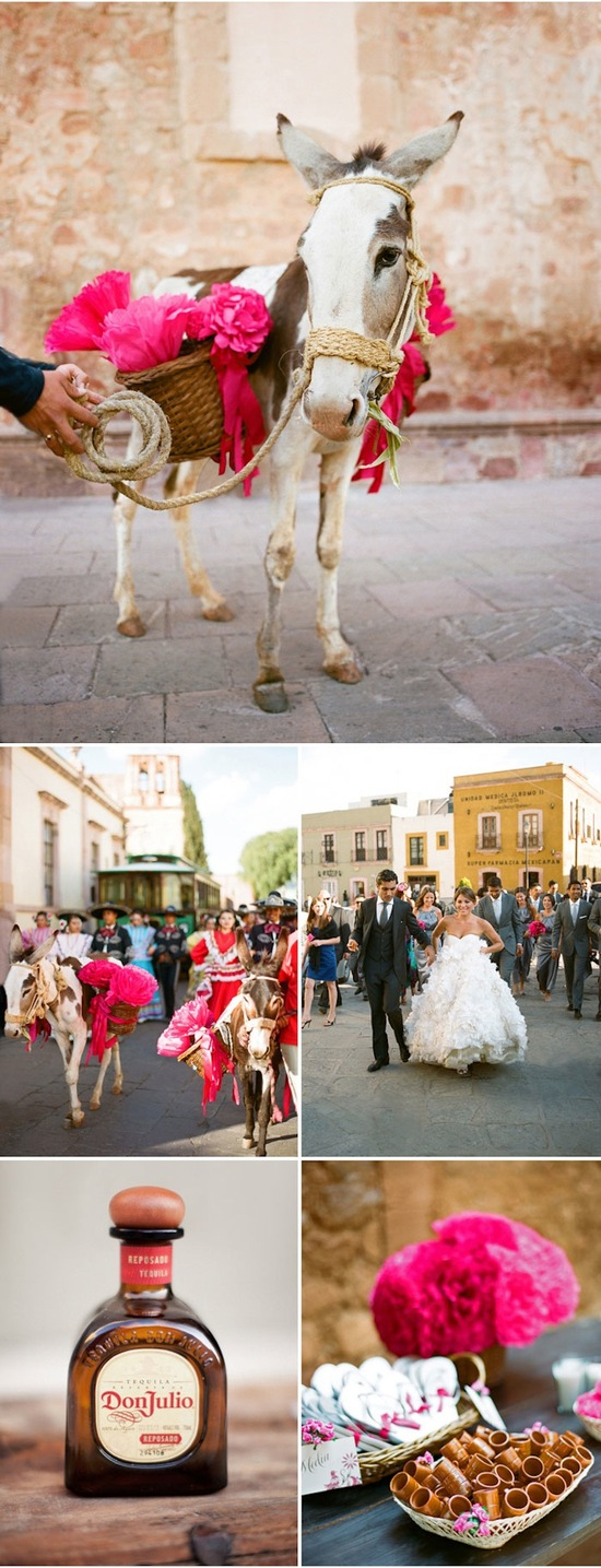 Bright destination wedding in Mexico by Aaron Delesie 6