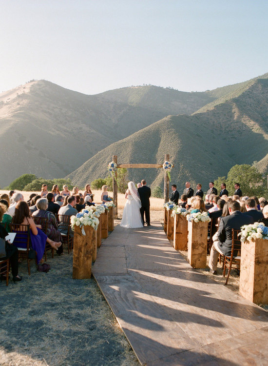 Wow Wedding Ceremony Aisles and Altars - Rustic Elegance