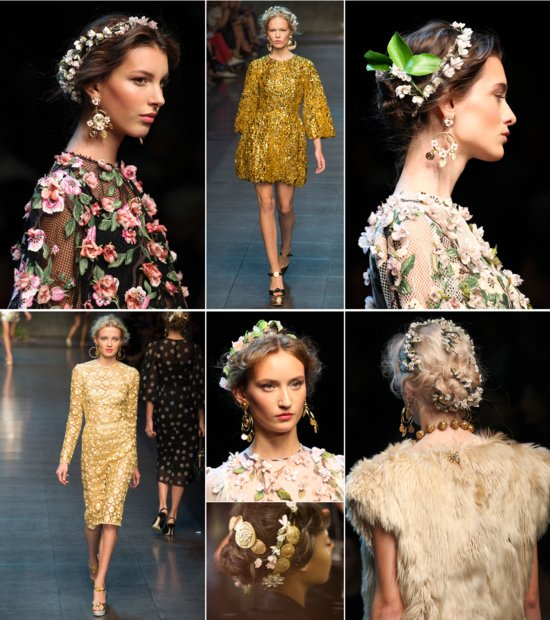 Dolce and Gabbana bridal style inspiration