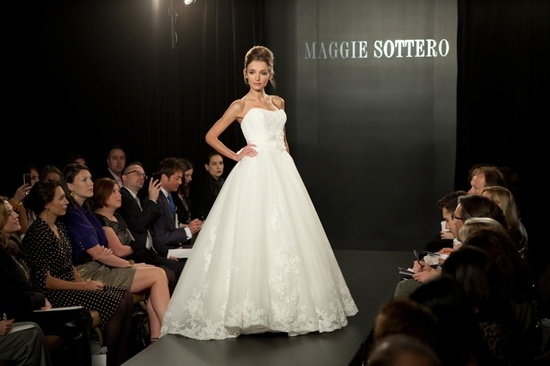 Fall 2012 wedding dress by Maggie Sottero- 8