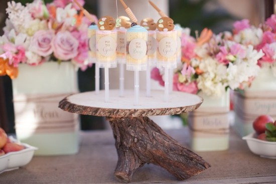 Diy Cake Push Pop Wedding Desserts