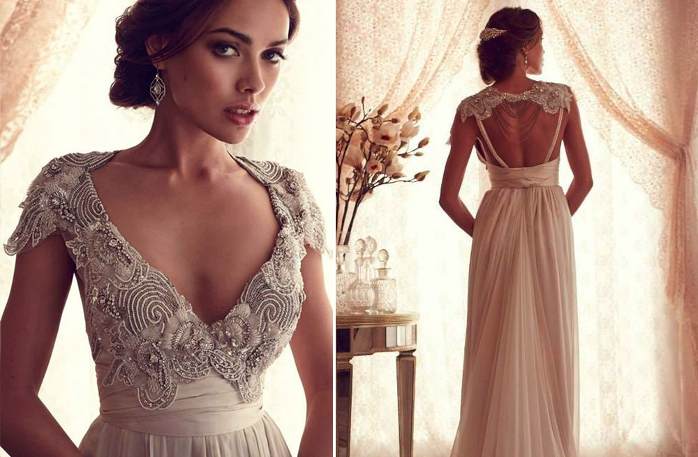 Anna campbell wedding dress gossamer bridal collection 4 for Where to buy anna campbell wedding dresses