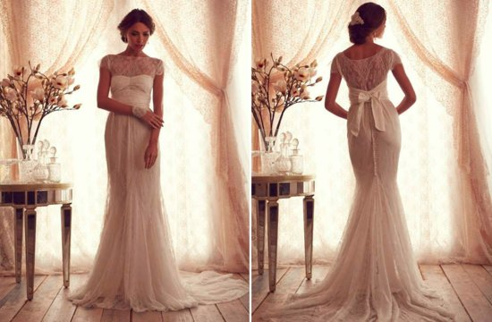 Classic Beaded Wedding Dress