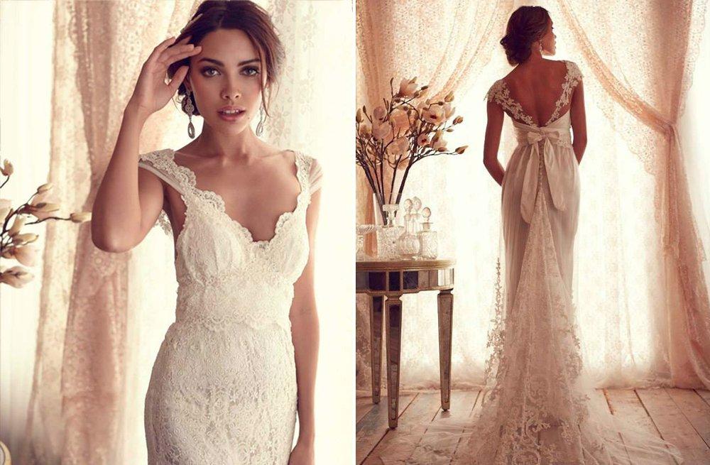 Anna campbell wedding dress gossamer bridal collection 17 for Anna campbell wedding dress used