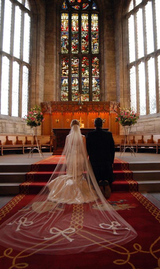photo of ANN GUISE Silk Wedding Veils