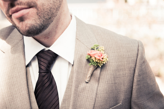 Mini Rose Boutonniere