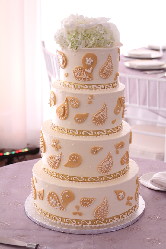Indian Modern Wedding Cake