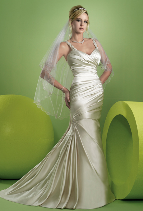 Classic Silk Wedding Dress