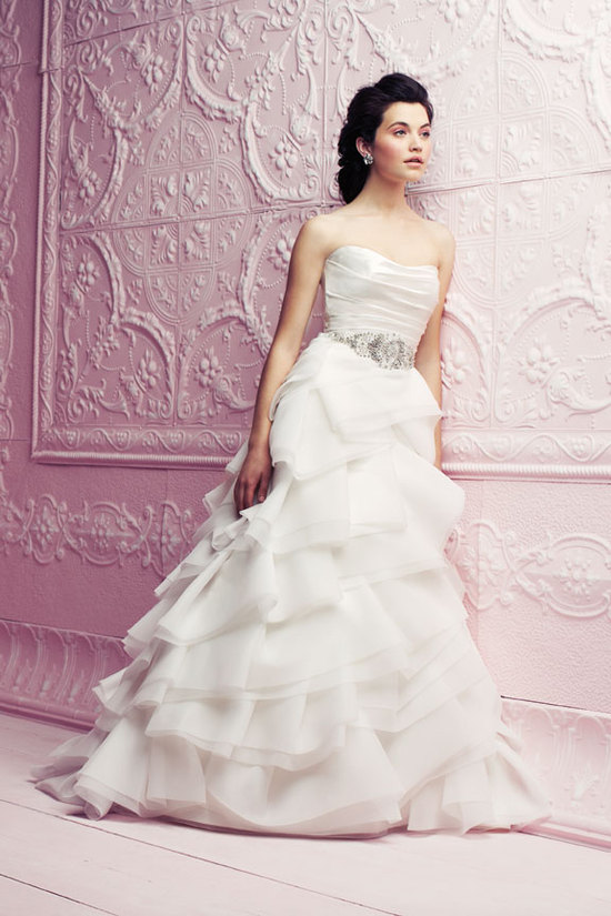Simple Elegant Wedding Gown