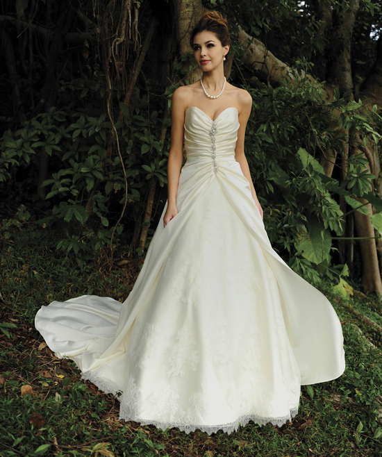 Tube Classic Wedding Gown