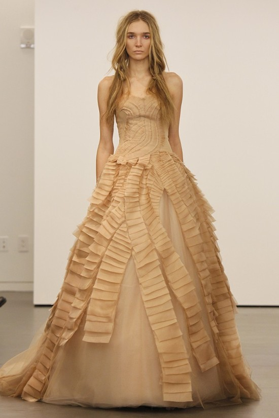 Vera Wang wedding dresses, Fall 2012- 1