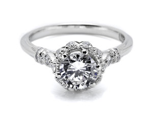 photo of Tacori engagement rings