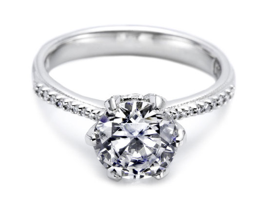 Round Tacori engagement ring