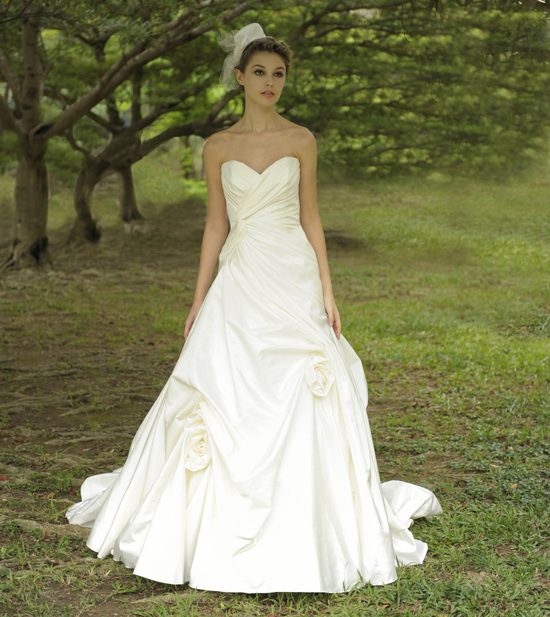 Strapless Classic Wedding Gown