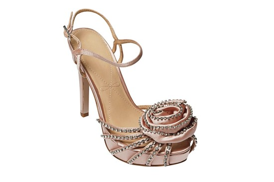 Blush Bridal Trend- Wedding Shoes
