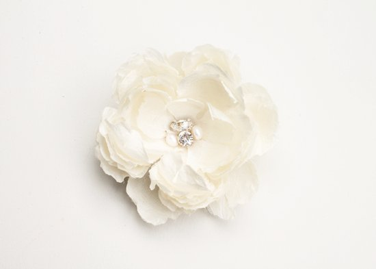 White Flower Hair Accessories