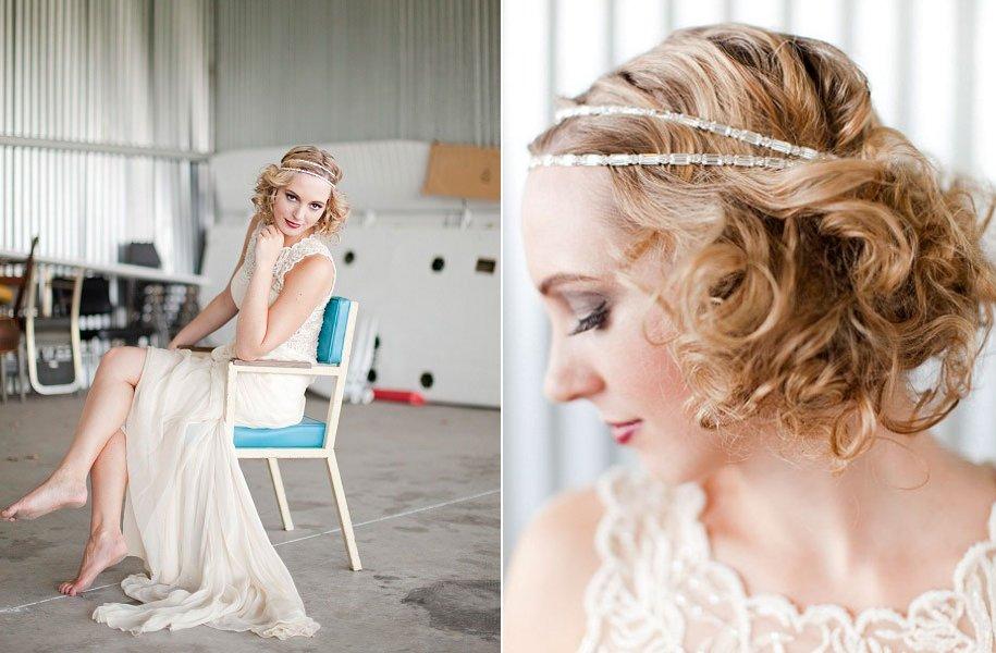 Vintage-bridal-style-wedding-hairstyle-headband-lace-wedding-dress.full