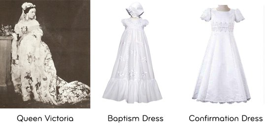White Dress Origins