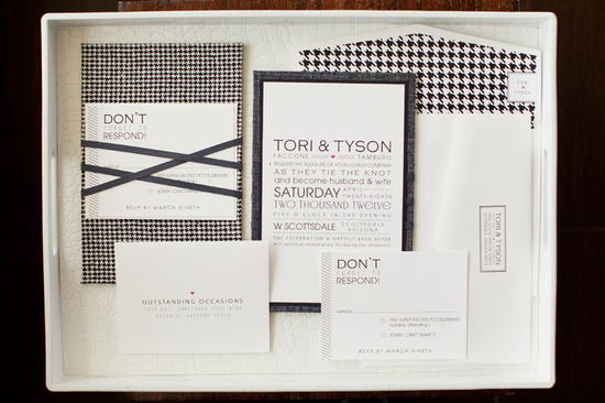 photo of 21 Chic Houndstooth Wedding Gems