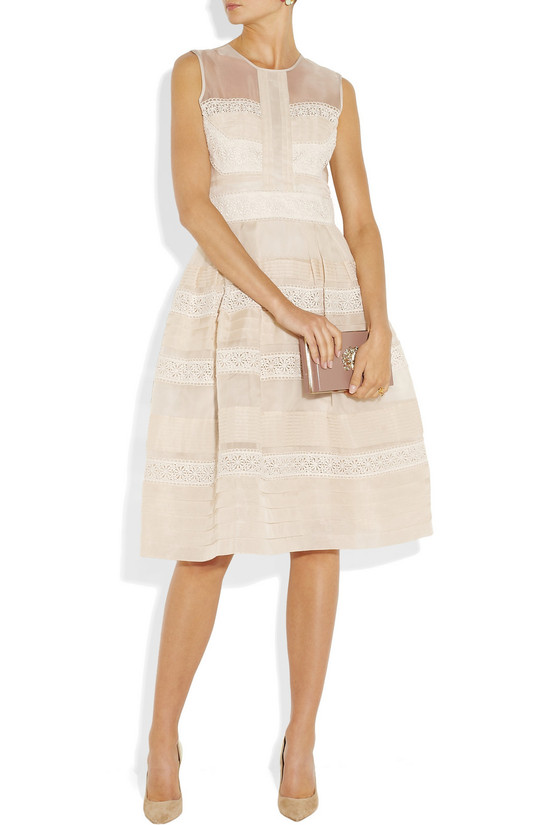 Temperley London illusion neckline LWD
