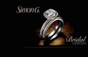 photo of Simon G engagement rings