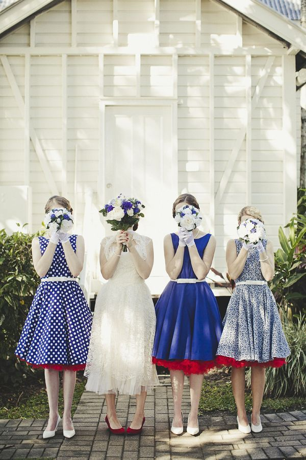 Mix-and-match-bridesmaids-in-blue-and-ivory.full