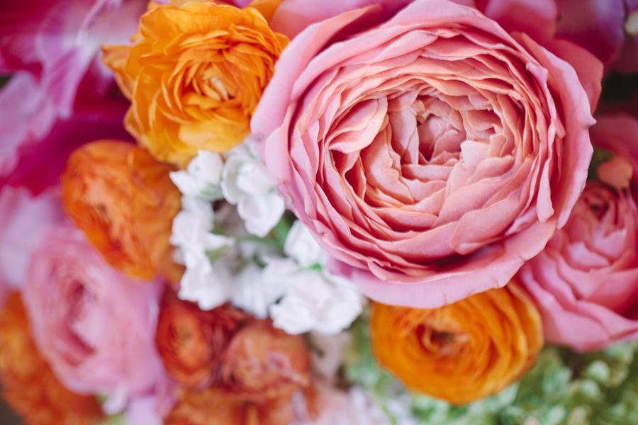 Bright-summer-wedding-romantic-pink-and-orange-bouquet.full
