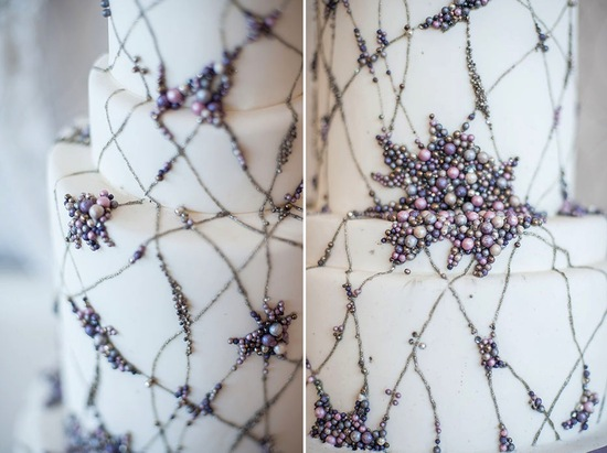 The Jenny Packham wedding cake