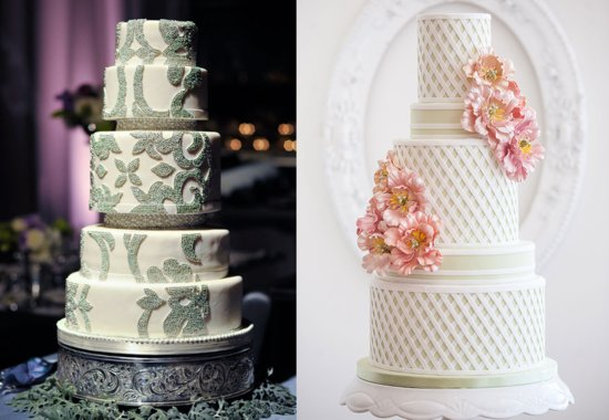Amazing wedding cakes by Bobbette and Belle 2