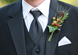 photo of Handsome boutonnieres