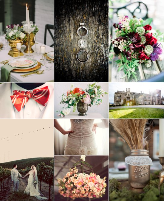Fall Wedding Giveaway winning ideabook
